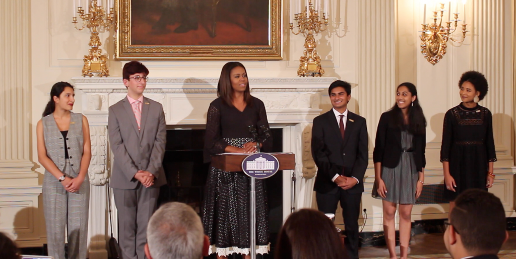 First Lady Celebrates Student Poets