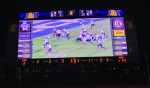 Tech unveils new video board at Tucker Stadium