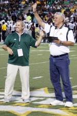 Larry Hymel honored for 50 years of service in sports