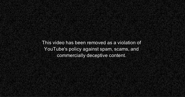 YouTube's censorship system is flawed