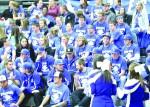 Kirkwood Men's Basketball blue out game