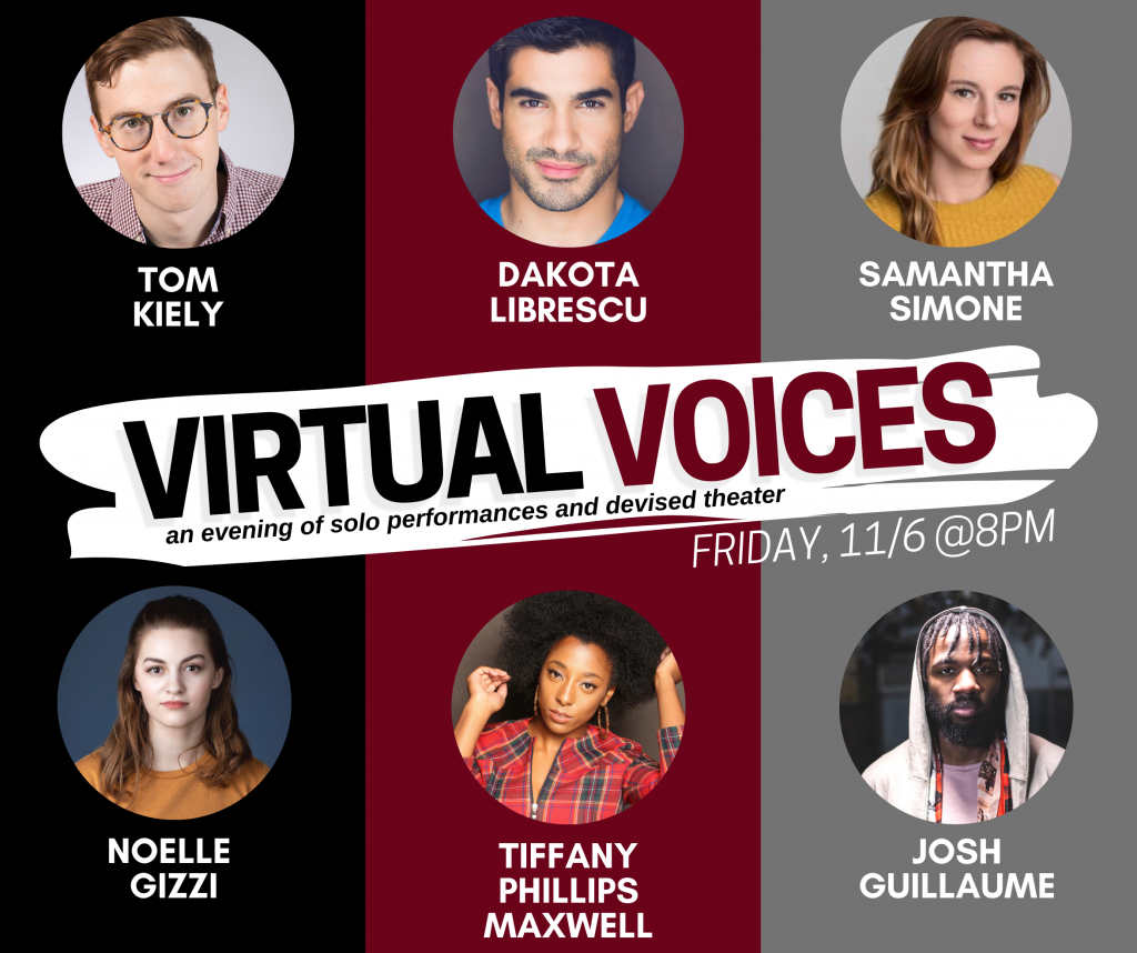 Virtual Voices draws attention to Zoom theater conflicts