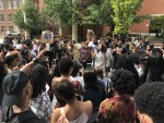 Protesters Disrupt Former FBI Director Comey During Howard's 150th Opening Convocation