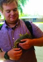 Orphaned baby squirrels rescued near library