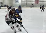 Men's ice hockey team falls just short of an upset