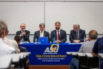 Guest speakers discuss geopolitical challenges at symposium