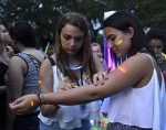 Campus Recreation puts on annual Glow in the Park event.