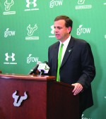 Weist named interim coach as USF begins search for replacement