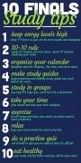 10 Finals Study Tips
