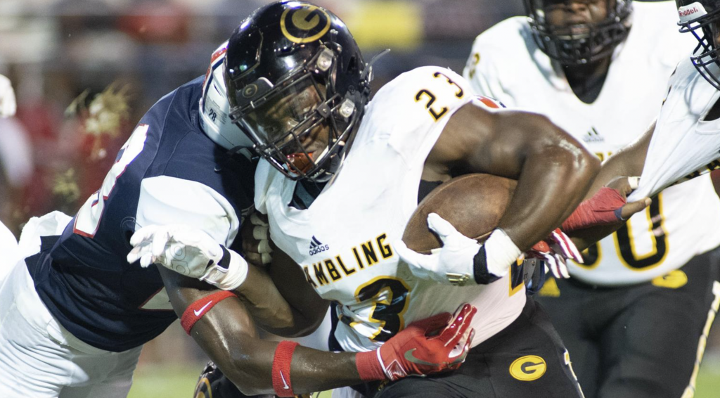 GSU running back Elder reflects on playing spring football during the pandemic