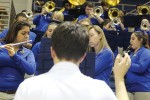 Basketball band provides energy and pumps up the crowd