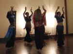 Alumnus instructs belly dancing