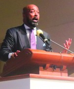 MLK service speaker says, 'Rejection is God's redirection'