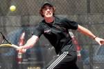Men's Tennis Blanks Rutgers-Newark 9-0