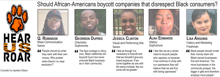 Talk back: Should African-Americans boycott companies that disrespect Black consumers?