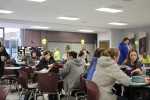Students flock for wings and karaoke