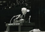The day Robert Frost came to campus