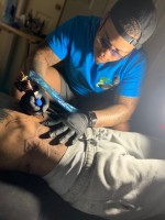 GSU tattoo artist drawing attention