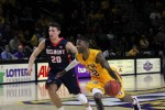 Men's basketball ends Belmont's undefeated conference streak