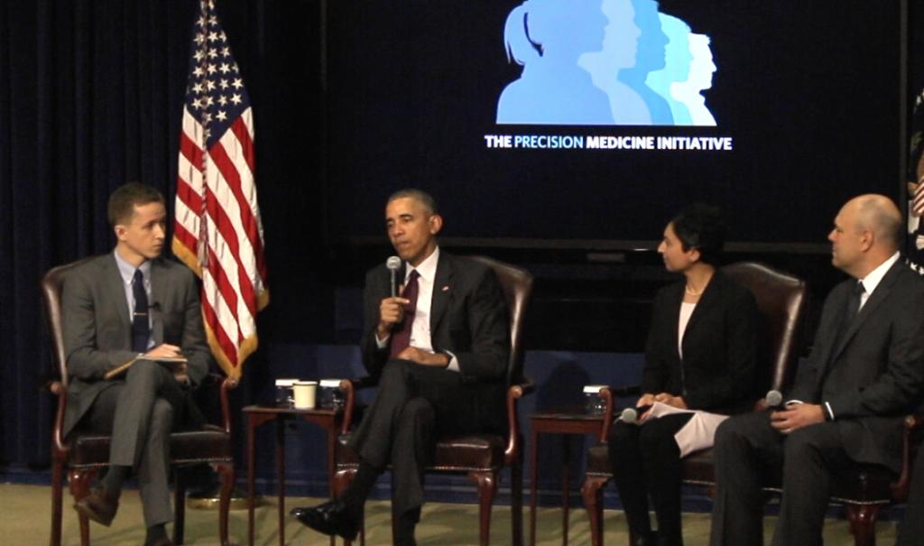 Precision Medicine Initiative at the White House