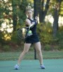 Tennis Grabs Another Win on Senior Day