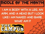 10/2/2020 RIDDLE OF THE MONTH