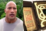 "Jumanji remake adds ""The Rock"" to cast"