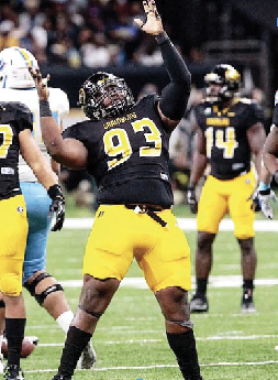 Pro-sized D-lineman Jackson looking forward to big day