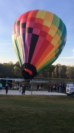 Local office complex treats staff to hot air balloon rides
