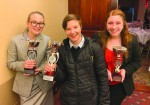 Debate team members defend titles