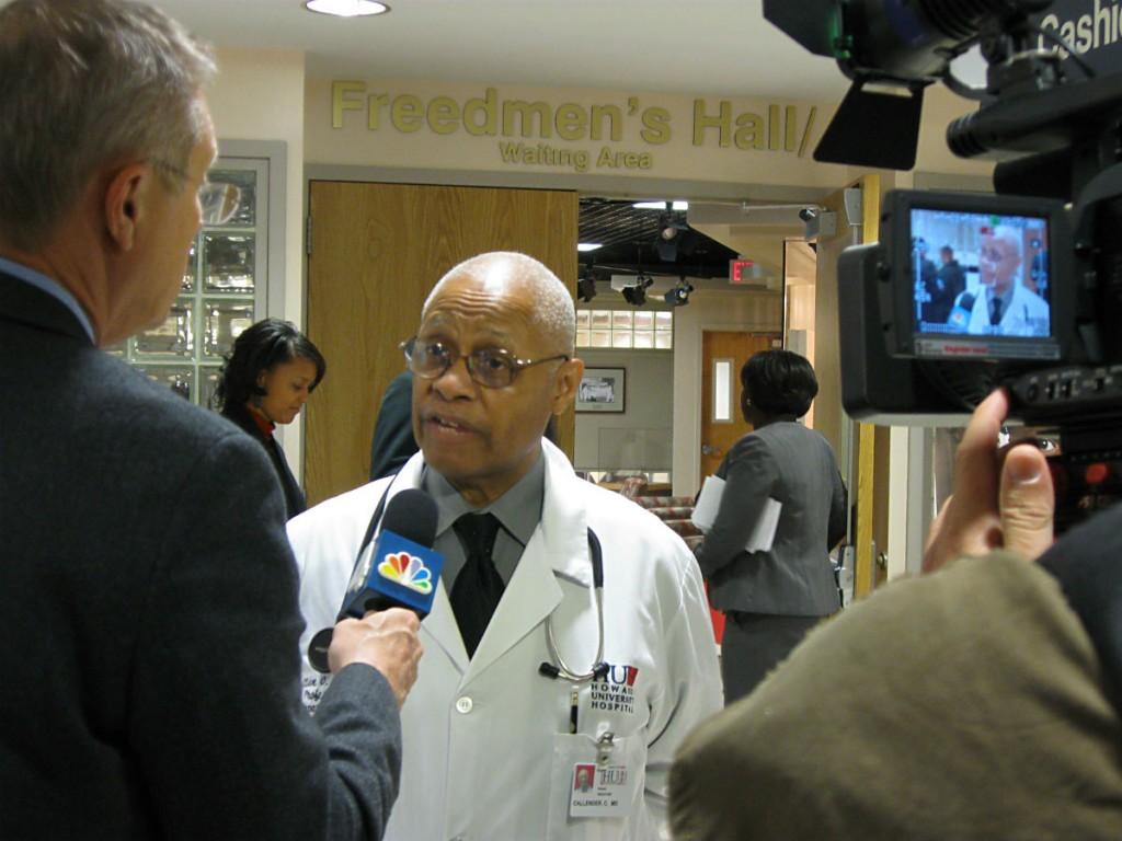 Dr. Clive Callender