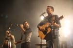 The Avett Brothers perform at the Hooper Eblen Center