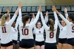 Women's Volleyball on the Road to NJAC Championship