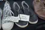 Hundreds of Shoes Displayed for Mental Health Exhibit