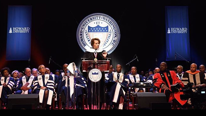 Convocation Speaker Reflects on Howard's Promise and Protest