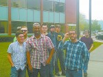 Students visit Whirlpool in Amana