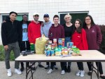 Donations are collected for Ramapo's We Care pogram