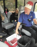 Students express appreciation for retired Lion Traxx driver