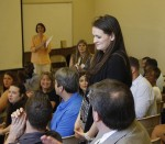 Communication seniors share research at colloquium