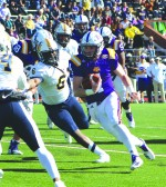 Tech football wins first game on homecoming