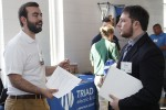 Students interact with potential employers