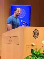 Poet featured speaker for final Brain Food