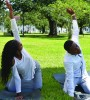 Yoga on the Oaks