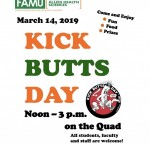 Kick Butts Event to celebrate FAMU as a tobacco and smoke free campus