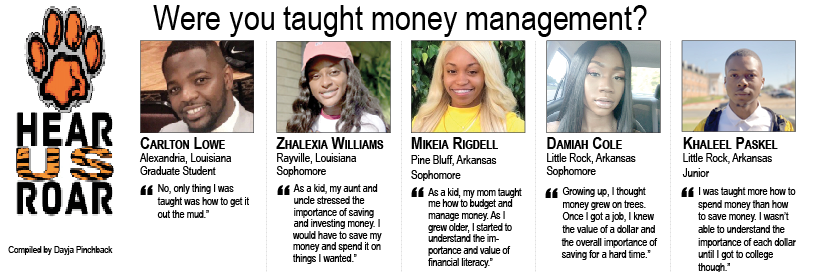 Talk Back: Were you taught money management?
