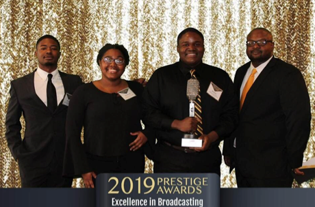 GSU Student Receives Prestige Award from Louisiana Association of Broadcasters