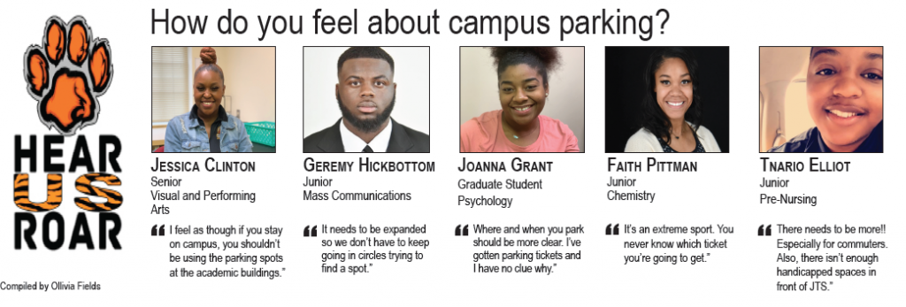 Talk Back: How do you feel about campus parking?
