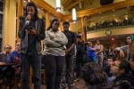 Students respond to Town Hall meeting