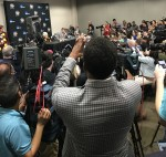 Sister Jean draws crowds at Final Four Media Day