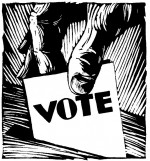 Blacks must register to vote, show up at the polls